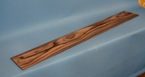 Neck lamination piece 800 x 110 x 2mm indian rosewood