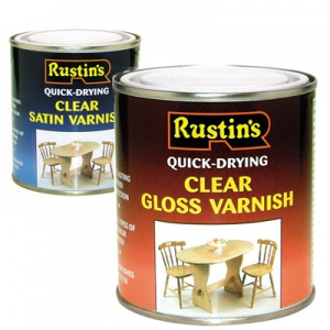 Rustins Satin Acrylic Varnish 1 litre