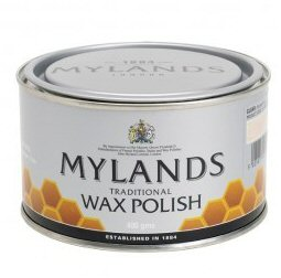 Mylands wax antique mahogany 400gm