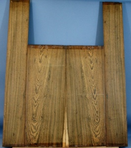 Bocote guitar back and sides set
