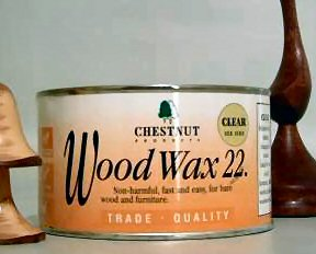 Chestnut Wood Wax 22 Medium Brown 450ml