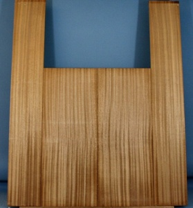 sapele guitar back and sides set