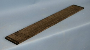 African ebony guitar fingerboard - light stripe