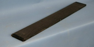 Bog oak bass guitar fingerboard grade AAA*