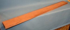 African mahogany guitar neck blank type A second choice