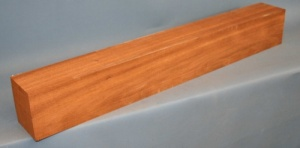 African mahogany guitar neck blank type C second choice