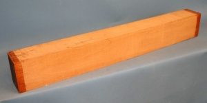 Honduras mahogany guitar neck blank type C second choice