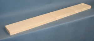 Maple guitar neck blank type F second choice quarter cut