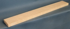 Curly maple guitar neck blank type F strong figure quarter cut