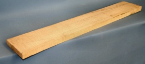 Curly maple guitar neck blank type F medium figure