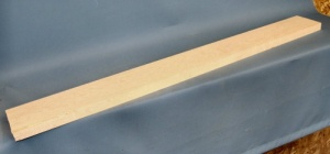 Birdseye maple guitar neck blank type A medium figure