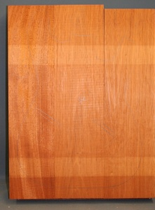 Honduras mahogany three piece body blank no 8