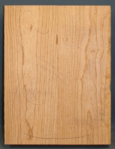 Swamp ash two piece body blank no 20