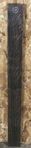 Macassar ebony sawn board no 7