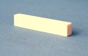 Corian guitar nut 55 x 11 x 8mm