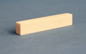Bone guitar nut 55 x 11 x 8mm