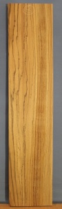Zebrano sawn board number 8
