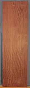Purpleheart sawn board number 1