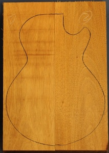 Honduras mahogany two piece body blank no 5