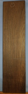 Wenge sawn board number 1