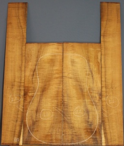 Hawaiin Koa guitar back and sides set WAAA* no 22