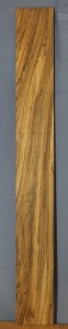 Zebrano sawn board number 1