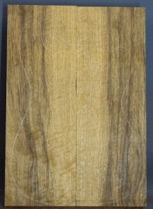 Black limba heart sap two piece blank number 84 select grade