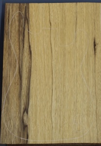 Black limba heart sap single piece blank no 86 select grade