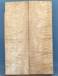 Curly maple guitar top number 218 type 'A'  strong figure