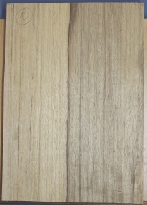 Black limba heart sap single piece body blank no 10 select