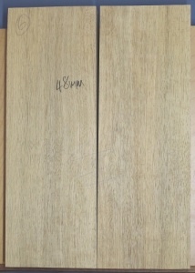 White limba two piece body blank select grade no 6