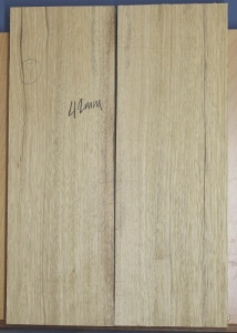 White limba two piece body blank select grade no 7