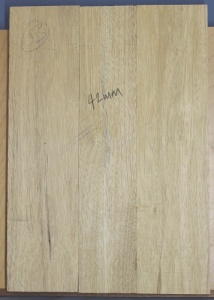 White limba three piece body select grade no 13