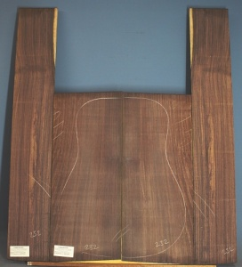 Indian rosewood guitar back and sides WAAA no 232