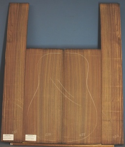 Indian rosewood guitar back and sides WAAA no. 235