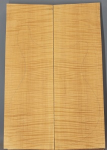 Curly maple guitar top number 21 type 'A'  highest figure
