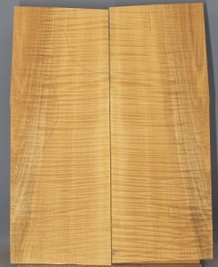Curly maple guitar top number 1 type 'A'  highest figure