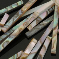 Abalone 25 x 2mm inlay strip 10 pack
