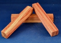 Brazilian Tulipwood pen blank