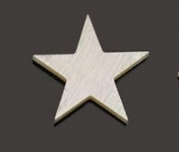 Mother of pearl 10mm five point star 10 pack