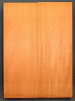 Honduras mahogany two piece body blank type 'A'
