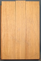 White limba three piece body blank select grade
