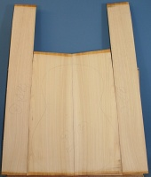 Cypress guitar back and sides set
