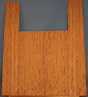 Bubinga guitar back and sides set no 12