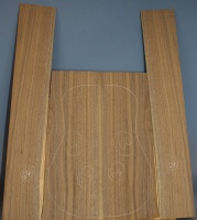 American black walnut guitar back and sides set number 64