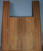 Indian rosewood guitar back and sides CAAA** no 2