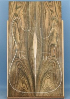 Bocote guitar top type 'A'