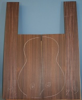 Indian rosewood guitar back and sides CAAA*** no 40