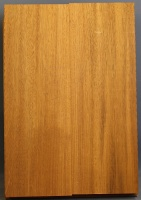 Honduras mahogany two piece body blank