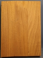 Honduras mahogany three piece body blank